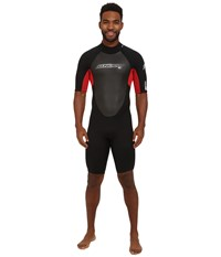 O'neill Reactor Spring 11 Black Red Black Men's Wetsuits One Piece