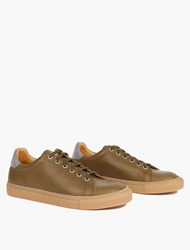 Our Legacy Green Classic Leather Sneakers