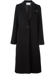 Alexander Wang T By Single Breasted Coat Black
