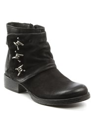 Daniel Magsy Barbed Chunky Ankle Boots Black