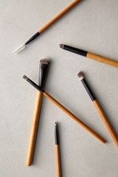 Anthropologie Antonym Eye Makeup Brush Set Honey