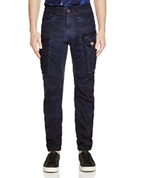 G Star G Star Raw Rovic New Tapered Fit Cargo Pants Imperial Blu Maz.