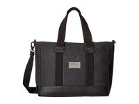 Hex Work Bag Charcoal Canvas Messenger Bags Gray