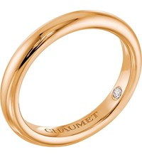 Chaumet Fidelite 18Ct Yellow Gold Diamond Wedding Band
