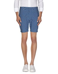 Marc By Marc Jacobs Trousers Bermuda Shorts Men Blue