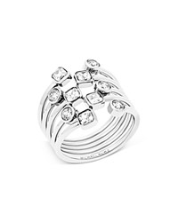 Michael Kors Cocktail Ring Silver
