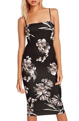 Missguided Women's Floral Print Body Con Dress