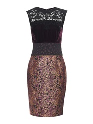 Sophie Theallet Velvet Metallic Dress