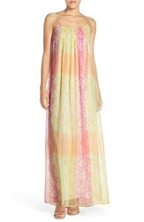 Women's Charlie Jade Print Silk Maxi Dress