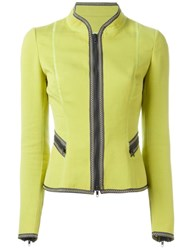 Moschino Vintage Trimmed Jacket Green
