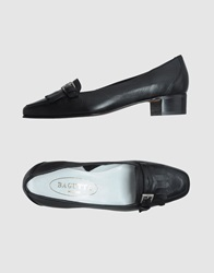 Bagutta Moccasins With Heel Black