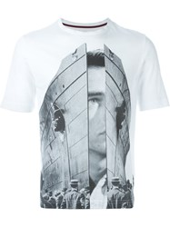 Antonio Marras Collage Print T Shirt White