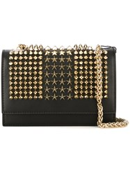 Philipp Plein Small 'Stars And Crimes' Shoulder Bag Black