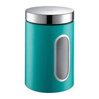 Wesco Kitchen Storage Canister With Window Turquoise