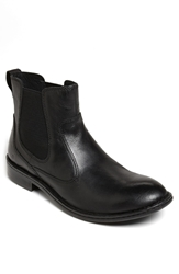 Born 'Mac' Chelsea Boot Men Black