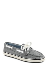 Sperry Cruiser Printed Boat Shoe Gray