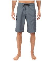 Quiksilver Manic 22 Boardshorts Stormy Weather Men's Swimwear Clear