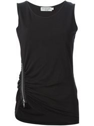 Ivan Grundahl 'Berr Zip' Tank Top Black