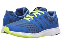 Adidas Mana Bounce Solar Yellow Collegiate Navy White Men's Running Shoes Blue