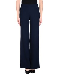 .. Merci Trousers Casual Trousers Women Dark Blue