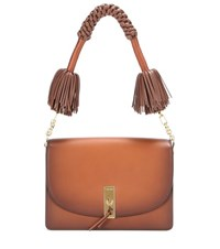 Altuzarra Ghianda Leather Shoulder Bag Brown