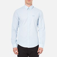 Hugo Boss Green Men's C Buster Long Sleeved Shirt Sky