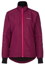 Craft Axc Touring Tracksuit Top Blossom Berry