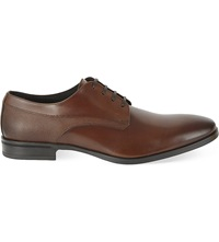 Kg By Kurt Geiger Atherton Leather Derby Shoes Tan