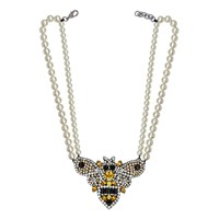 Darya London Queen Bee Necklace Sunflower