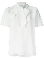 Gianluca Capannolo Pussy Bow Shortsleeved Blouse