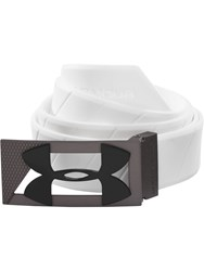 Under Armour Silicone Belt White