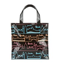 Harrods Neon City Small Tote Bag Unisex