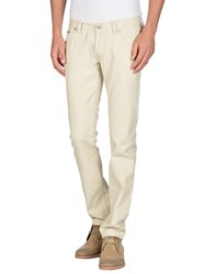 Messagerie Denim Denim Trousers Men Beige