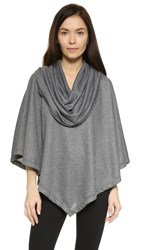 Soft Joie Meritt Poncho Dark Heather Grey