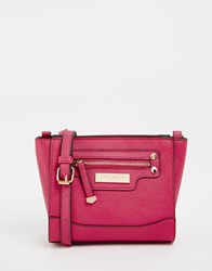 Carvela Mini Cross Body Bag Fuschia Pink