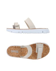 Camper Footwear Sandals Women Ivory