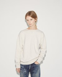 Chimala Fleece Crew Top Oatmeal