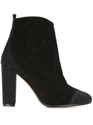 Jean Michel Cazabat Zipped Ankle Boots Black