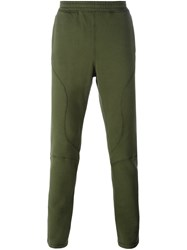 Faith Connexion Tapered Track Pants Green
