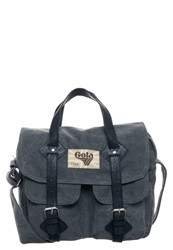 Gola Blakely Across Body Bag Mid Grey Black Dark Gray
