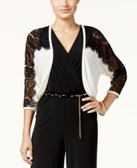 Thalia Sodi Lace Illusion Shrug Only At Macy's Cloud