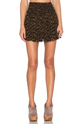 Ganni Mini Skirt Black
