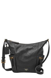 Fossil 'Small Emerson' Hobo Bag Black