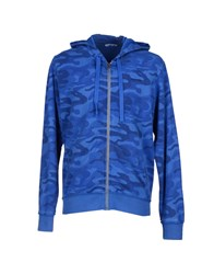 Italia Independent Topwear Sweatshirts Men Blue