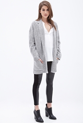 Forever 21 Oversized Two Tone Blazer