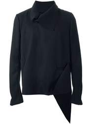 Moohong Structured Tailored Jacket Black