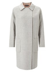 Four Seasons Double Face 3 4 Length Coat Grey Camel