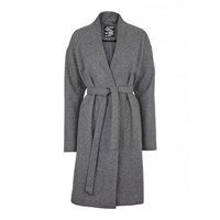 Just Female Minimal Grey Coat