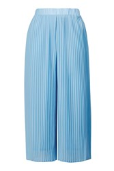 Pleated Culottes Trousers By Jovonna Blue