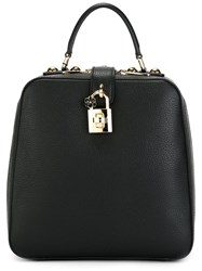 Dolce And Gabbana 'Rosaria' Backpack Black